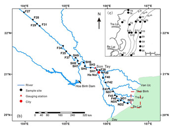 magnetic properties of sediments of the red river effect of River Sediment Diagram Sorting